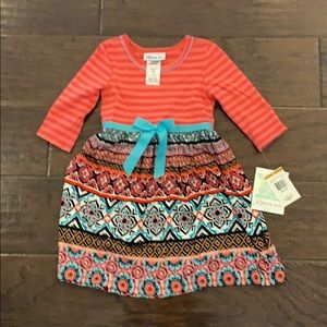 Bonnie Jean Girls 3T Dress New with Tags